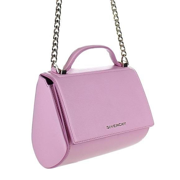 Givenchy Handbags - GIVENCHY Pandora Box Mini Chain Handbag Pink 8634b57c93531